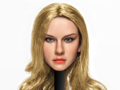 Cat Toys 1/6 Scale Female Head Sculpt (Blonde Hair)