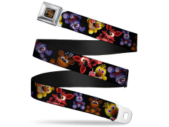 Five Nights at Freddy's Scattered Plushies SeatBelt Buckle Belt