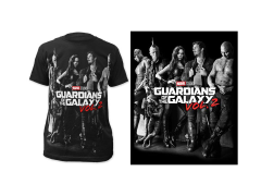 Marvel Guardians of the Galaxy Vol. 2 Poster T-Shirt