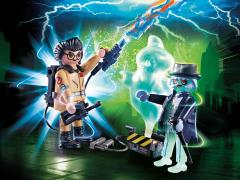 Ghostbusters Playmobil Playset - Spengler With Ghost