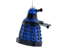 Doctor Who Blue Dalek Robot Ornament
