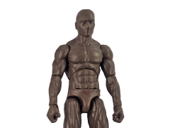 Vitruvian H.A.C.K.S. Male Figure Blank (Tree Bark Brown)