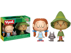 Wizard of Oz Vynl. Dorothy and Toto + Scarecrow