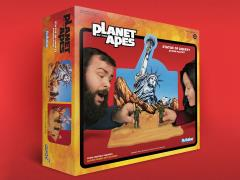 Planet of the Apes ReAction Statue of Liberty SDCC Exclusive Playset