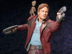Guardians of the Galaxy Vol. 2 ArtFX Star-Lord With Groot Statue