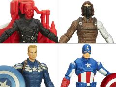 Captain America Super Soldier Gear Figures Wave 1 - Set of 4