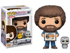 Pop! TV: The Joy of Painting - Bob Ross And Hoot (Chase)
