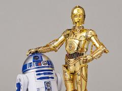Star Wars C-3PO & R2-D2 1/12 Scale Model Kit