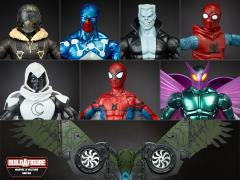 Spider-Man Marvel Legends Wave 6 Set of 7 (Flight Gear BAF)