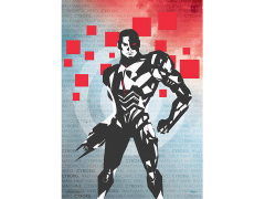 Justice League Cyborg MightyPrint Wall Art