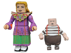 Alice Through the Looking Glass Minimates Series 1 Alice & Tweedledum
