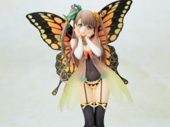Tony's Heroine Collection 4-Leaves Fairy Garden Freesia Ani*Statue
