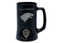Game of Thrones House Stark Mug With Spinning Emblem