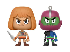 Masters of The Universe Vynl. He-Man + Trap Jaw