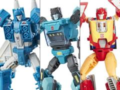 Transformers Titans Return Deluxe Wave 6 Set of 3 Figures