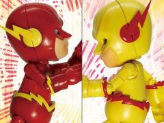 Hybrid Metal Figuration The Flash Battle Pack
