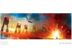Star Wars Face the Dark Side Limited Edition Giclee