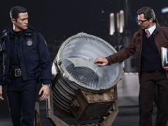The Dark Knight Rises MMS275 John Blake and Jim Gordon with Bat-Signal 1/6th Scale Collectible Set