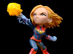 Captain Marvel Q-Fig Captain Marvel Diorama