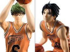 Kuroko's Basketball Midorima & Takao (Orange Uniform Ver.) 1/8 Scale Figure Set