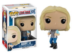 Pop! Marvel: Captain America: Civil War - Agent 13