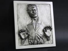 Star Wars Han Solo in Carbonite Wall Plaque