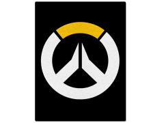 Overwatch Logo Throw Blanket