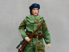 The Soviets Female Soldier Sniper 1/6 Scale Accessory Set