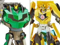 Transformers Platinum Edition Robots in Disguise Grimlock & Bumblebee Two Pack
