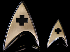 Star Trek: Discovery Enterprise Medical Badge & Pin Set