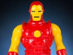 "Marvel Secret Wars Jumbo 12"" Iron Man Figure"