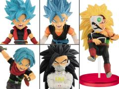 Super Dragon Ball Heroes World Collectable Figure Vol. 4 Set of 5 Figures