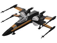 Star Wars Poe Dameron's Boosted X-Wing Fighter (The Last Jedi) Model Kit
