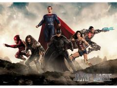 Justice League United We Stand MightyPrint Wall Art