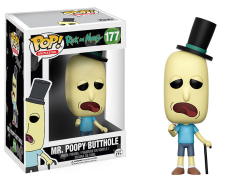 Pop! Animation: Rick & Morty - Mr. Poopybutthole
