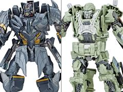 Transformers: The Last Knight Premier Edition Voyager Wave 2 Set of 2