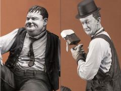 Stan Laurel & Oliver Hardy Another Nice Mess Statue LE 400