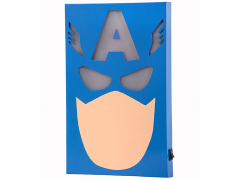 Marvel Captain America GLOBOX Superhero Wall Light