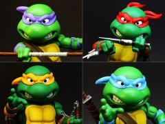 TMNT Hybrid Metal Figuration Figure - Set of 4