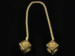 Star Wars: The Last Jedi Han Solo's Dice Replica