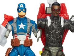 Captain America Super Soldier Gear Figures Wave 2 - Set of 2