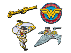 DC Comics Wonder Woman Enamel Pin Set