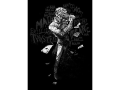 DC Dark Edition Joker (Cards) Displate Metal Print