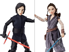 Star Wars Rey (Jakku) and Kylo Ren Figure 2-Pack (Forces of Destiny)