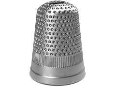 Monopoly: Oversized Token Bank - Thimble