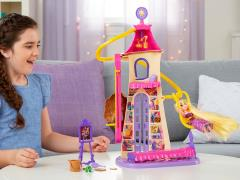 Disney Princess Tangled Swinging Locks Castle Playset
