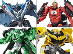Transformers: The Last Knight Premier Edition Deluxe Wave 3 Set of 4 Figures