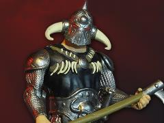 Frank Frazetta's Death Dealer (Heavy Armor) Deluxe Retro Action Figure