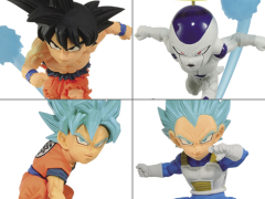 Dragon Ball Super World Collectable Diorama Vol. 3 Set of 4 Figures