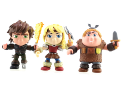 How To Train Your Dragon Action Vinyls: Series 01 Set of 3 - Humans